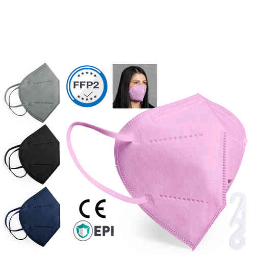 Auto Filtering Mask FFP2 Color Tensil